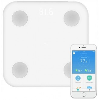WAGA XIAOMI Mi BODY COMPOSITION SCALE 2 kolor: BIAŁY